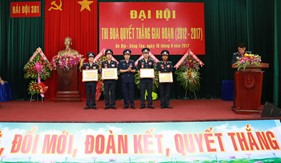 Hải đội 301 tổ chức Đại hội thi đua Quyết thắng giai đoạn 2012-2017