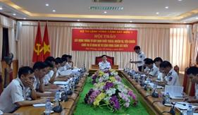 BTL Vùng Cảnh sát biển 1 Hội thảo xây dựng Thông tư quy định chức trách, nhiệm vụ, tiêu chuẩn chức vụ sĩ quan Cảnh sát biển