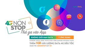 Viettel chính thức ra mắt gói data 4GNONSTOP dành riêng cho giới trẻ
