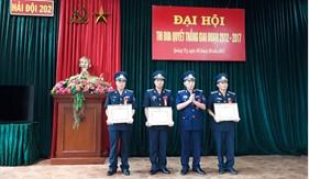 BTL Vùng Cảnh sát biển 2 tổ chức thành công Đại hội thi đua quyết thắng cấp cơ sở giai đoạn 2012 – 2017