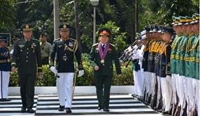 Tăng cường hợp tác quốc phòng góp phần thúc đẩy quan hệ Việt Nam - Philippines