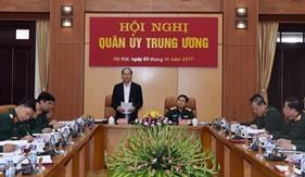Quân ủy Trung ương tổ chức Hội nghị về công tác quốc phòng, quân sự