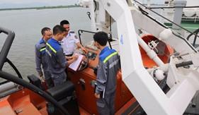 Cơ động kiểm định, sửa chữa phương tiện đo tại BTL Vùng Cảnh sát biển 3