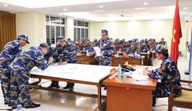 Công tác tham mưu tác chiến của  Cảnh sát biển trong tình hình mới