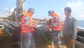 BTL Vùng Cảnh sát biển 4 bắt giữ tàu chở 100.000 lít dầu DO trái phép trên vùng biển Tây Nam