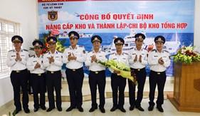 Công bố Quyết định nâng cấp Kho và thành lập Chi bộ Kho Tổng hợp thuộc Cục Kỹ thuật Cảnh sát biển