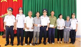 Thực hiện công tác chính sách quân đội và  hậu phương quân đội ở BTL Vùng Cảnh sát biển 4
