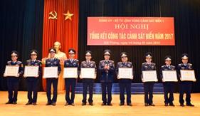 BTL Vùng Cảnh sát biển 1: Tổng kết công tác cảnh sát biển năm 2017