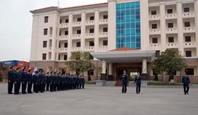 BTL Vùng Cảnh sát biển 1 huấn luyện bổ sung Điều lệnh đội ngũ năm 2017