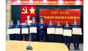 """Phòng Tài chính Cảnh sát biển nhiều năm liền đạt danh hiệu """"Đơn vị Quyết thắng"""""""
