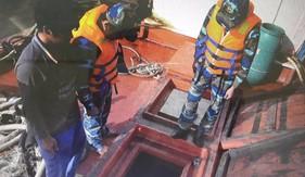 BTL Vùng Cảnh sát biển 4 bắt và xử lý các tàu buôn lậu dầu trên biển