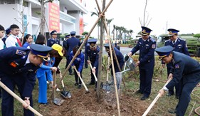 BTL Cảnh sát biển phát động Tết trồng cây Xuân Mậu Tuất