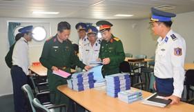 Cục Quân huấn kiểm tra công tác chuẩn bị huấn luyện năm 2018 của BTL Vùng Cảnh sát biển 2