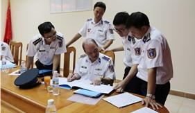 Kiểm tra công tác chuẩn bị ra quân huấn luyện tại BTL Vùng Cảnh sát biển 3