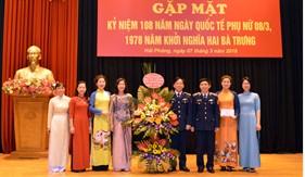 BTL Vùng Cảnh sát biển 1 gặp mặt kỷ niệm Ngày Quốc tế Phụ nữ
