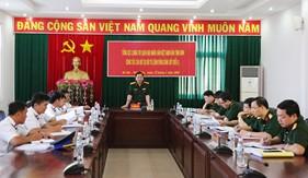 Tổng Cục Chính trị nắm tình hình kết quả triển khai nhiệm vụ công tác cán bộ tại BTL Vùng Cảnh sát biển 3