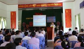 BTL Vùng Cảnh sát biển 3 tuyên truyền biển, đảo tại tỉnh Bình Thuận