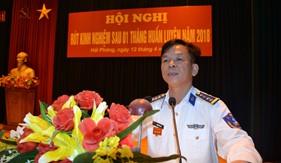BTL Vùng Cảnh sát biển 1 rút kinh nghiệm sau 1 tháng ra quân huấn luyện
