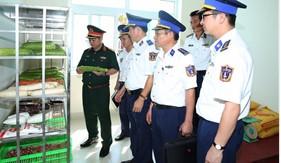Tổng cục Hậu cần kiểm tra tại BTL Vùng Cảnh sát biển 3