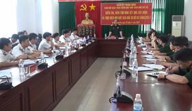 Quân ủy Trung ương kiểm tra thực hiện quy chế dân chủ cơ sở BTL Vùng Cảnh sát biển 3