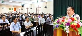 230 cán bộ chủ chốt cơ sở huyện Quốc Oai được tuyên truyền về tình hình biển đảo