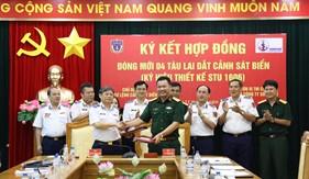 Ký hợp đồng đóng mới 4 tàu lai dắt Cảnh sát biển