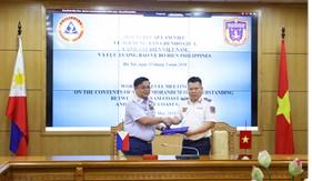 Cảnh sát biển Việt Nam và Lực lượng Bảo vệ bờ biển Philippines: Họp cấp làm việc thống nhất nội dung Bản ghi nhớ hợp tác