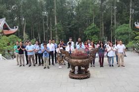 MIC tổ chức Lễ báo công, dâng lên Bác những thành tích trong hoạt động kinh doanh và làm theo tấm gương đạo đức Hồ Chí Minh tại khu di tích Đá Chông K9