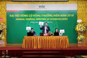 Đại hội đồng cổ đông thường niên MIC năm 2018, đặt kế hoạch Doanh thu 2.500 tỷ đồng, tăng vốn điều lệ lên 1.300 tỷ đồng