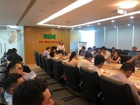 """MIC tổ chức thành công Chương trình """"Đào tạo kỹ năng bán hàng KHDN, cạnh tranh nội bộ và thẩm định nghiệp vụ TSKT, Hàng hải - Lớp 2"""""""
