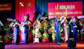 BTL Vùng Cảnh sát biển 2 đón nhận Huân chương Chiến công hạng Ba