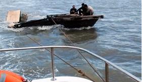 BTL Vùng Cảnh sát biển 1 cứu nạn ghe cá bị chìm