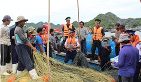 Phối hợp tuyên truyền 20 năm ngày truyền thống Lực lượng Cảnh sát biển
