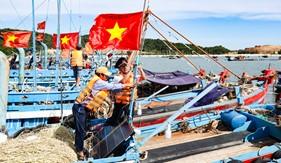 BTL Vùng Cảnh sát biển 1 đồng hành với ngư dân huyện đảo Cô Tô