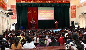 Hội phụ nữ BTL Vùng Cảnh sát biển 3 giao lưu với Hội Phụ nữ huyện Bắc Tân Uyên, tỉnh Bình Dương