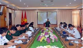Bộ Quốc phòng kiểm tra, khảo sát việc thực hiện Thông tư 104  tại BTL Vùng Cảnh sát biển 1