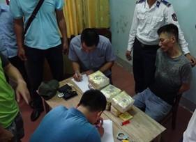 Đoàn Đặc nhiệm PCTP ma túy số 2 chủ trì phối hợp thu giữ hơn 6kg ma túy trái phép