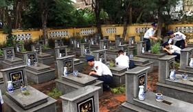 BTL Vùng Cảnh sát biển 1 đẩy mạnh các hoạt động tri ân  kỉ niệm Ngày Thương binh, liệt sĩ
