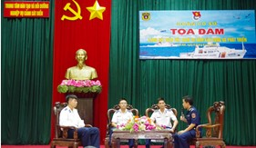 """Trung tâm Đào tạo và Bồi dưỡng Nghiệp vụ Cảnh sát biển: Tọa đàm """"Cảnh sát biển Việt Nam 20 xây dựng và phát triển"""""""