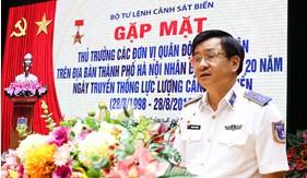 BTL Cảnh sát biển: Gặp mặt Thủ trưởng các đơn vị Quân đội đóng quân trên địa bàn Hà Nội và Quân chủng Hải quân nhân kỷ niêm 20 năm Ngày truyền thống
