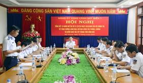 Đảng ủy Vùng Cảnh sát biển 1: Tăng cường lãnh đạo, chỉ đạo công tác phòng, chống và kiểm soát ma túy trong tình hình mới