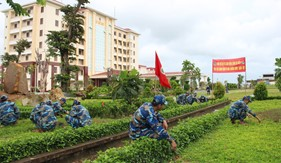 Tuổi trẻ các đơn vị tổ chức nhiều hoạt động thiết thực chào mừng 20 năm Ngày truyền thống Lực lượng Cảnh sát biển