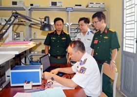 BTL Vùng Cảnh sát biển 1 tham gia Hội thi Ngành Tiêu chuẩn-Đo lường- Chất lượng toàn quân lần thứ V năm 2018