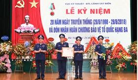 Cục Kỹ thuật Cảnh sát biển đón nhận Huân chương Bảo vệ Tổ quốc hạng Ba