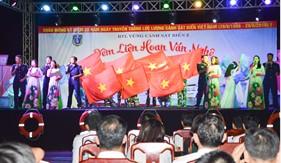 BTL Vùng Cảnh sát biển 2 tổ chức các hoạt động chào mừng kỷ niệm 20 năm Ngày truyền thống Cảnh sát biển Việt Nam