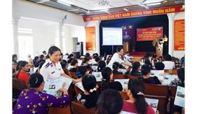 Tuyên truyền kỉ niệm 20 năm ngày truyền thống tại quận Hải An, TP. Hải Phòng