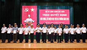BTL Cảnh sát biển trao quyết định điều động học viên chuyên môn kỹ thuật ra trường năm 2018