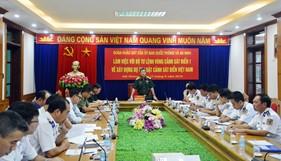 Ủy ban Quốc phòng và An ninh Quốc hội làm việc tại BTL Vùng Cảnh sát biển 1