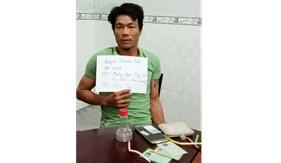 Đoàn Đặc nhiệm PCTP ma túy số 4 bắt đối tượng tàng trữ trái phép chất ma túy