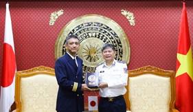 Cảnh sát biển Việt Nam và Lực lượng Bảo vệ bờ biển Nhật Bản: Trao đổi kinh nghiệm chống buôn lậu và xuất, nhập cảnh trái phép